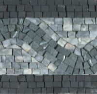 Hand crafted Marble Mosaic Border VMBD368-G