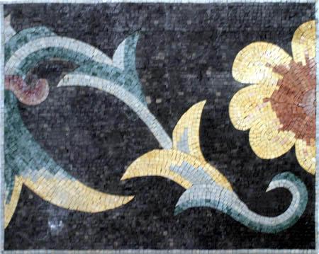 Handmade Natural Stone Mosaic Border VMBD7-G