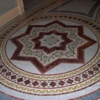 Marble Mosaic Art Medallion