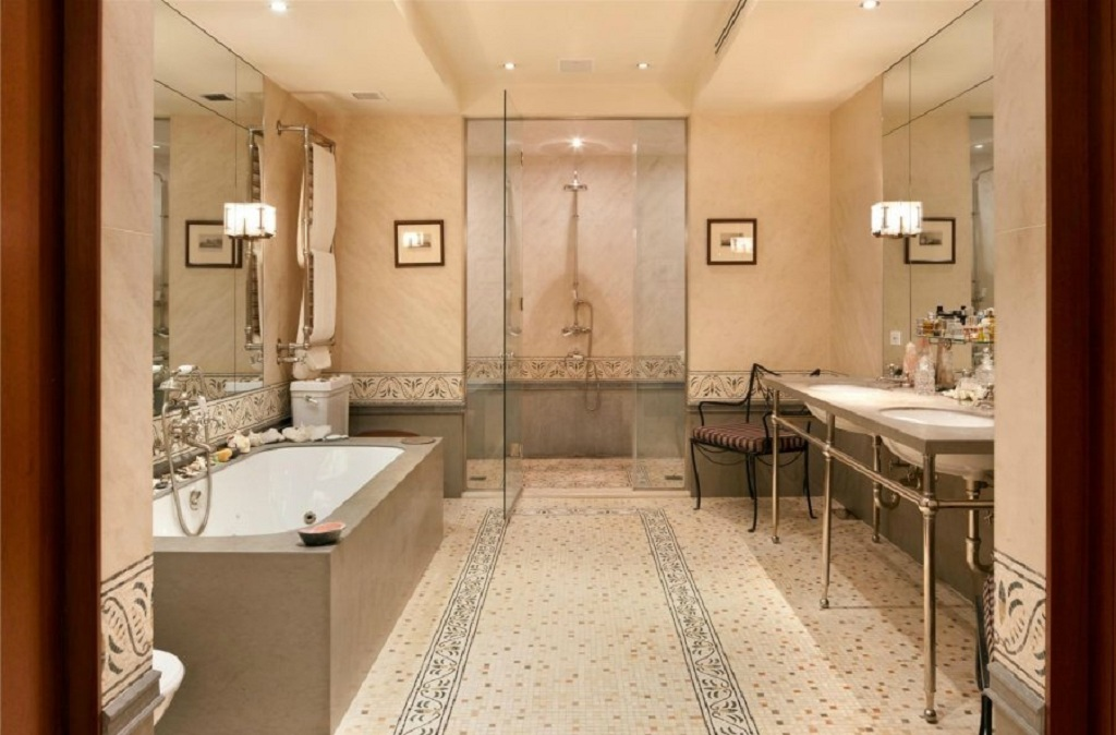 Marble Mosaic Bathroom