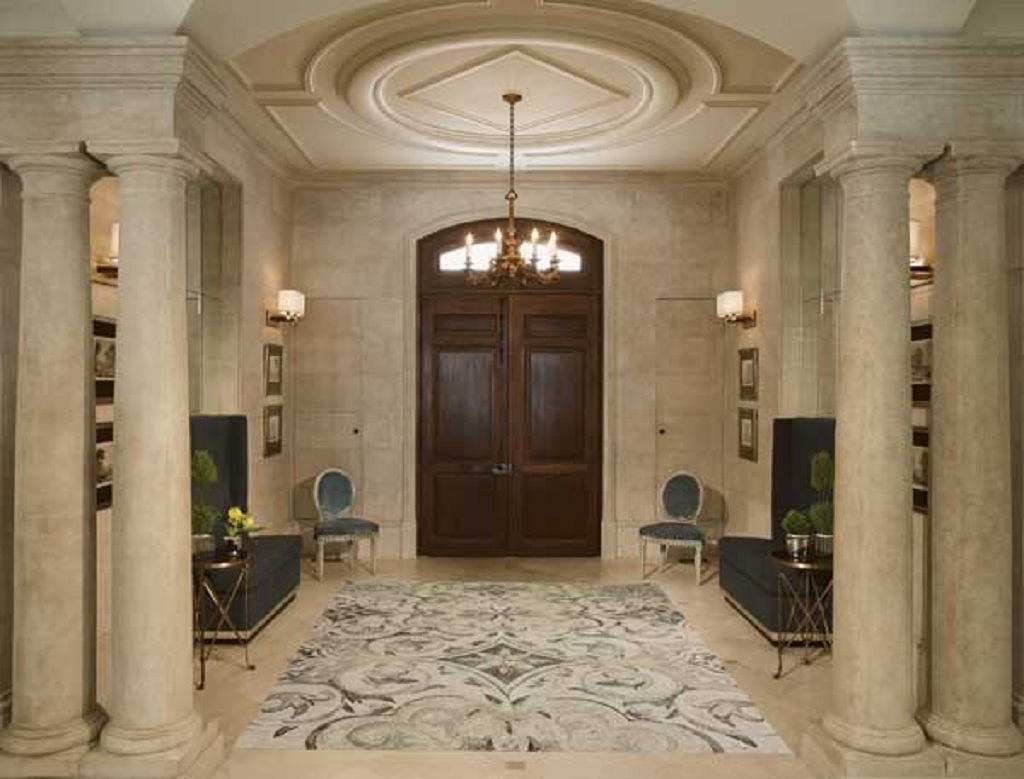 Marble Mosaic Entry Room