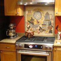 Marble Mosaic Kitchen Backsplash Tile