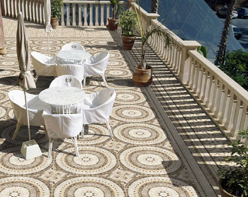 Marble Mosaic Outside Flooring