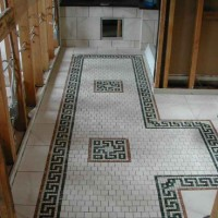 Marble Mosaic Pattern Tiles