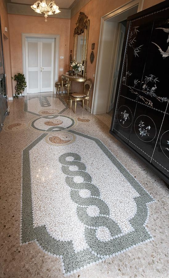 Private Residence Artistic Mosaic Project / ITALY