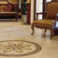 mosaic medallion tile