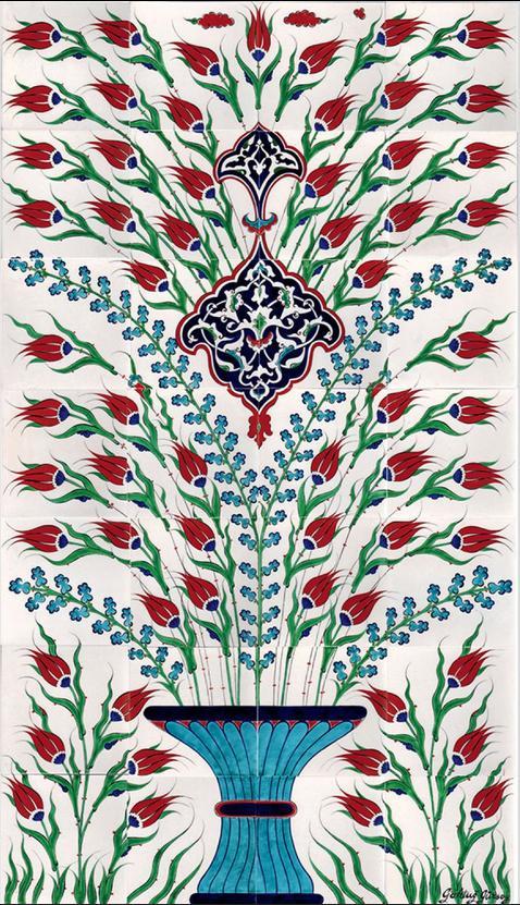 Handmade Iznik Panels