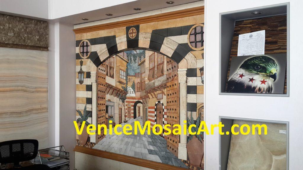 Marble Mosaic Art Tiles
