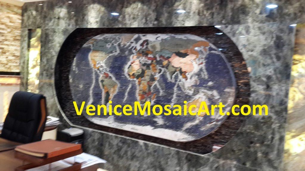 Marble Mosaic Globe