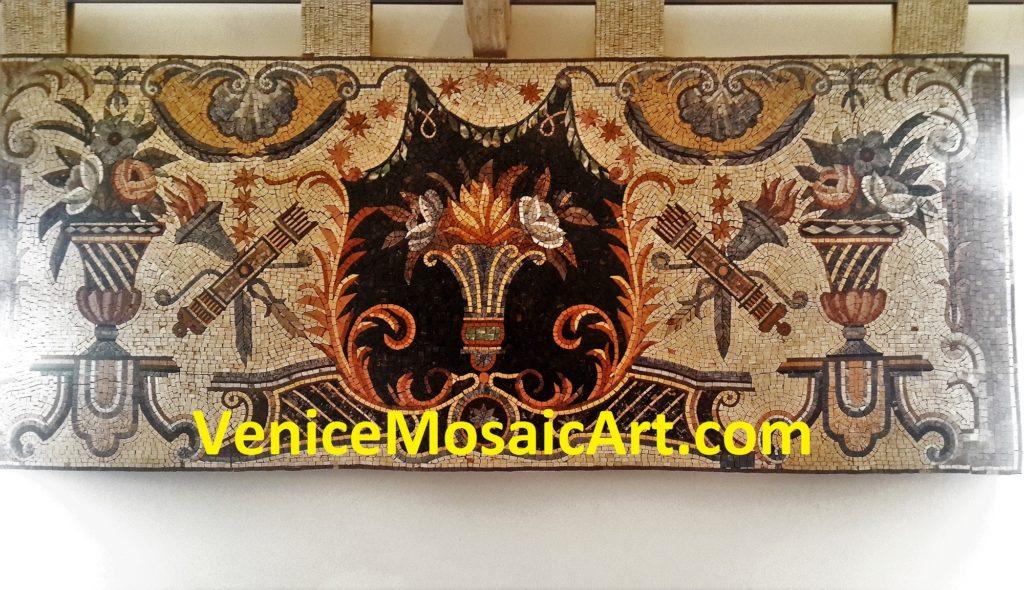 Marble Mosaic Wall Rug Tiles