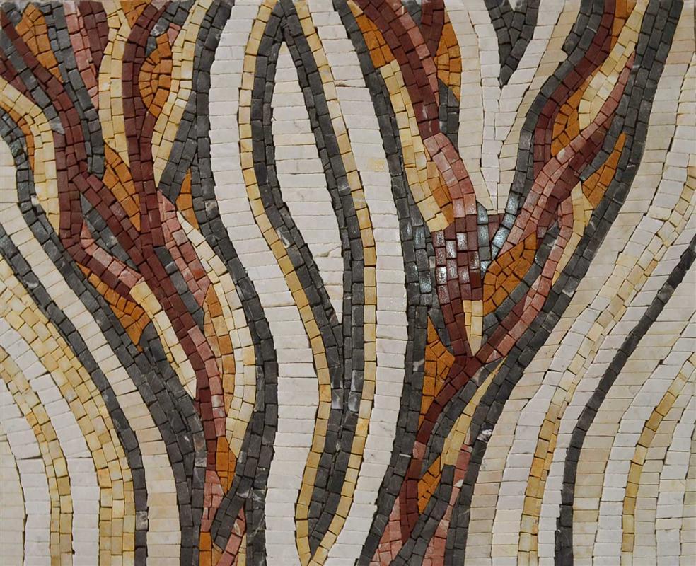 Custom Designed Marble Mosaic Field Tile Venice Mosaic Art Factory